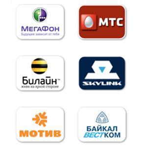 Операторы сотовой связи Камень-Рыболова